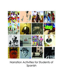 Narration Activities for Students of Spanish