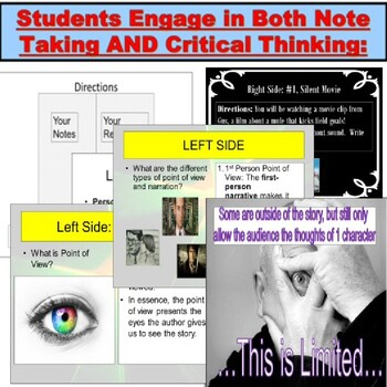 Narration and Point of View JUMBO Lesson and PowerPoint