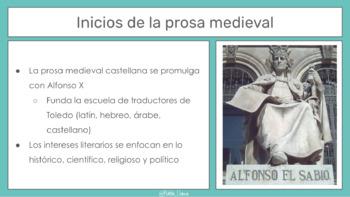 Narrativa en la Edad Media