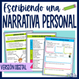 Narrativa personal / Spanish Personal Narrative Distance learning