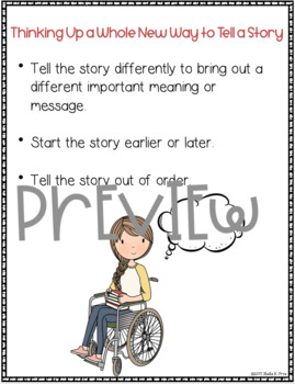 Narrative Anchor Charts - Grade 5 - Writing Workshop Units of Study
