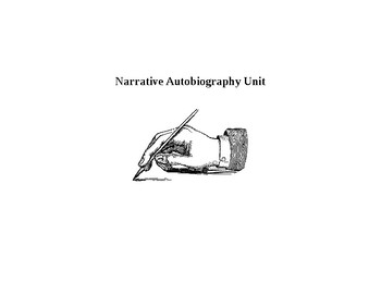 Narrative Autobiography Writing Assignment