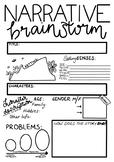 Narrative Brainstorm - Graphic Organiser. 7 Steps to Writing