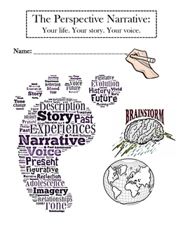 Narrative Writing Brainstorm & Graphic Organizer