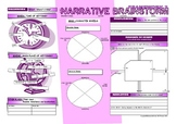 Narrative Brainstorm Graphic Organizers