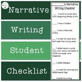 Narrative Writing Checklist/Rubric