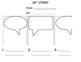 Narrative Comic Strip Kindergarten Friendly