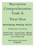 Narrative Comprehension Task A - Year One