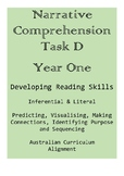 Narrative Comprehension Task D - Year One