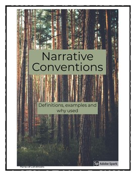 Narrative Conventions Booklet