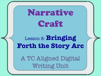 Narrative Craft - Bringing Forth the Story Arc