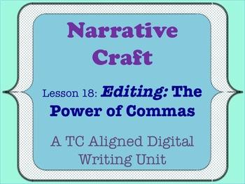 Narrative Craft - Editing
