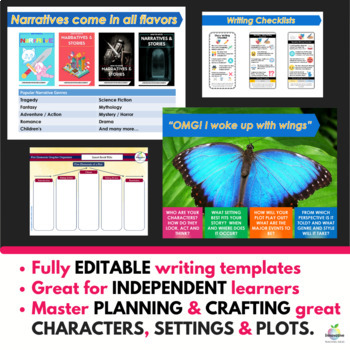 Narrative & Creative Story Writing Unit ( Self Directed Digital & Print Modules)