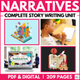 Narrative & Creative Story Writing Unit ( Self Directed Digital & Print Modules)