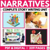 Narrative & Creative Story Writing Unit ( Self Directed Di