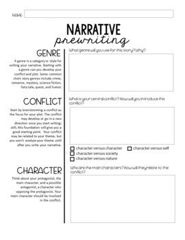 Narrative Creative Writing Assignment