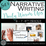 STAAR Narrative Daily Editing Practice Set 2:  Google Classroom & One Drive