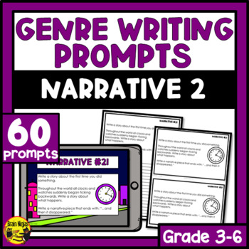 Daily Narrative Writing Prompts - Set 2