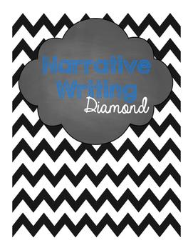 Narrative Diamond Writing Poster