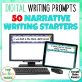 Narrative Digital Writing Prompts for Google Drive®