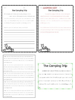 Narrative Paragraph Editing: 10 Passages for Grades 3-5