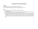 Narrative Elements Assessment