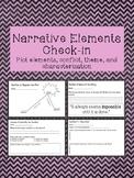 Narrative Elements Check in Worksheet
