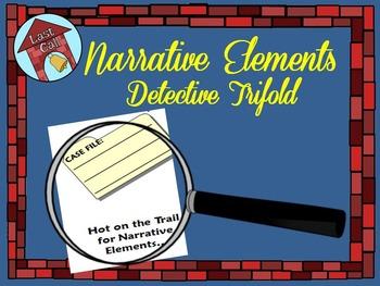 Narrative Elements Detective Trifold