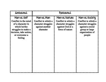 Narrative Elements Foldable Book