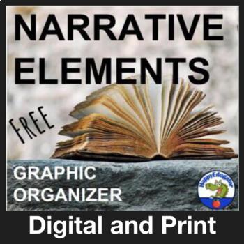 Narrative Elements Graphic Organizer - FREE