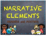 Narrative Elements Headers and Posters - Story Elements