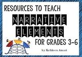 Narrative Elements Resources