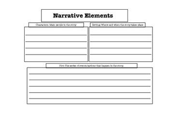 Narrative Elements  / Summarizing Organizer