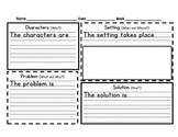 Narrative Elements with Sentence Frames