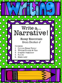 Narrative Essay Graphic Organizer & Rubric Common Core Aligned