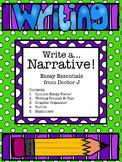 Narrative Essay Graphic Organizer & Rubric Common Core Aligned