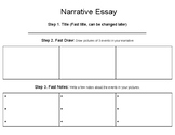 Narrative Essay Graphic Organizers