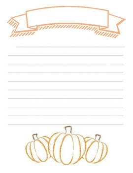 Writing Prompt - Halloween Narrative Writing Prompt