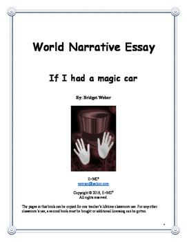 Narrative Essay: If I had a magic car