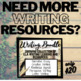 Narrative Writing Packet: Prompts, Brainstorm, Outline, Checklist, Rubric