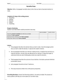 Narrative Essay Unit Packet