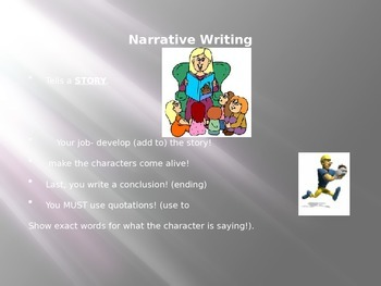 Narrative Essay Writing
