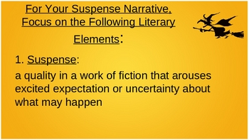 Narrative Essay Writing PPT-Focus on Suspense & Foreshadowing