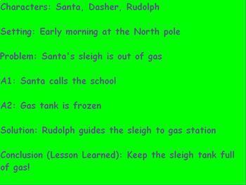 Narrative Essay on Santa Visiting