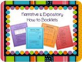 Narrative & Expository - How to Booklets