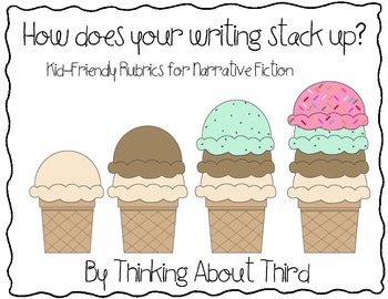 Narrative Fiction Writing Kid-Friendly Rubric