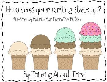 Narrative Fiction Writing Kid-Friendly Rubric