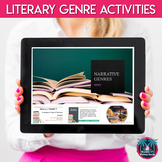 Literary Genres Activities and Reading Lessons for Middle