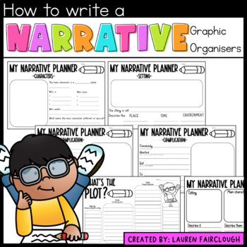 Narrative Graphic Organisers