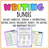 MEGA WRITING BUNDLE | Narrative, Informational, & Opinion Writing